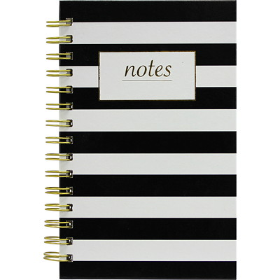 Hilroy Coming Up Classic Hardcover Journal  HARD COVER  DOTS OR STRIPES 200 PAGES  5 X 8