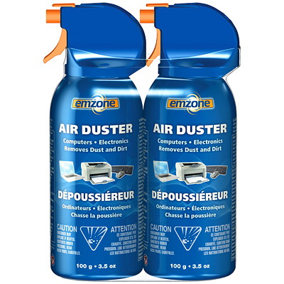 Emzone Air Duster  FOR COMPUTERS AND ELECTRONICS REMOVES DUST AND DIRT
