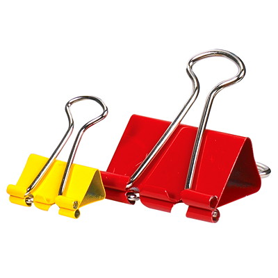 Grand & Toy Fold-Back Binder Clips, Assorted Colours and Sizes, 70/PK ASST COLOURS REPLACED 99819