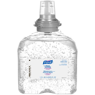 Purell Instant Gel Hand Sanitizer TFX Refill, Carton of 4 bottles REFILL  CARTON OF 4