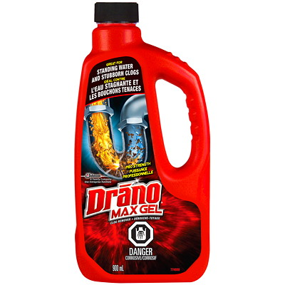 Drano Max Gel Clog Remover, 900 mL  CLOG REMOVER