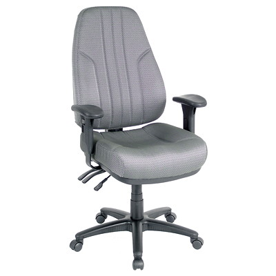 Workpro Miranda High-Back Multifunction Chair  GRAPHITE FABRIC SEAT AND BACK EXTRA THICK MOLDED FOAM