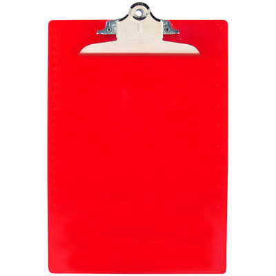 Saunders Recycled Plastic Clipboard 50%PCW LETTER SIZE