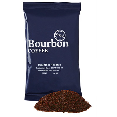 Bourbon Mountain Reserve Ground Coffee, 42/CT 42 X 2.25OZ  GROUND MEDIUM ROAST