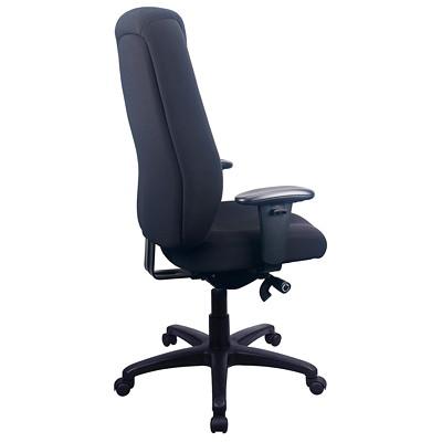 Tempur-Pedic High-Back Synchro-Tilt Chair  TEMPUR-PEDIC  SEAT CUSHION BLACK FABRIC