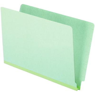 "Pendaflex Recycled Pressboard End Tab Shelf File Folders  1""EXP.25PT 100% REC.CLOTH GUSSET STRAIGHT CUT 3/4"" TAB"