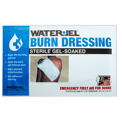 Water-Jel Emergency Burn Kit, II