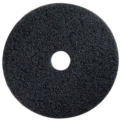 "Prime Source Stripping Floor Pads, Black, 17"", 5/CS ADS 17''  BLACK"