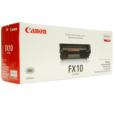 Canon O.E.M. FX10 Black Standard Yield Laser & Fax Cartridge #104  YIELD 2K