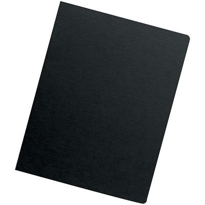 Couvertures de présentation surdimensionnées de ton noir Futura Fellowes OVERSIZE LETTER BLACK; 25 PACK