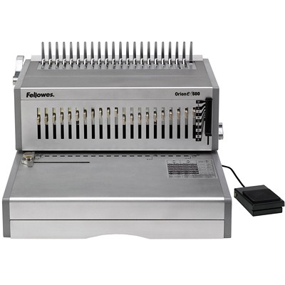 Fellowes Orion E 500 Electric Comb Binding Machine ELECTRIC. PUNCHES 30 SHTS BINDS UP TO 500 SHEETS
