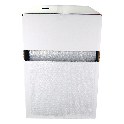 """Grand & Toy Bubble Wrap Cushioning, 5/16"""" Bubble Height, 12"""" x 100'  12""""X100' PERFORATED EVERY 12"""""""