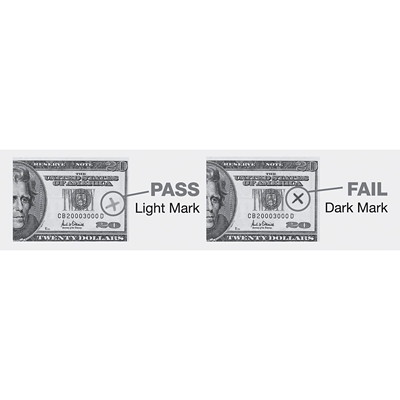 Dri-Mark American Money Counterfeit Detector Pen, For American Bills
