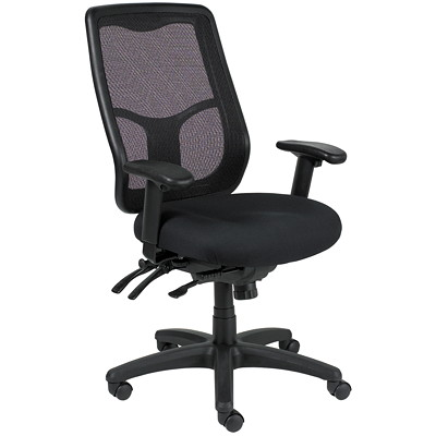 Eurotech Apollo Multifunction Chair With Ratchet-Back  SEAT SLIDER MULTI-FUNCTION BACK AND SEAT ANGLE ADJUSTMENT