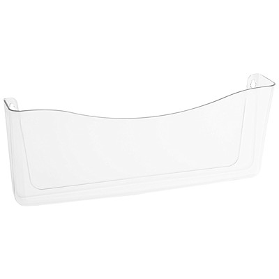 Rubbermaid Unbreakable Legal-Size Clear Wall File Pocket  UNBREAKABLE