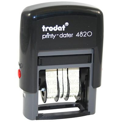 Dateur autoencreur Printy 4820 Trodat CARACTÈRES 4 MM  (NO 1-1/2). UTILISABLE PENDANT 12 ANS