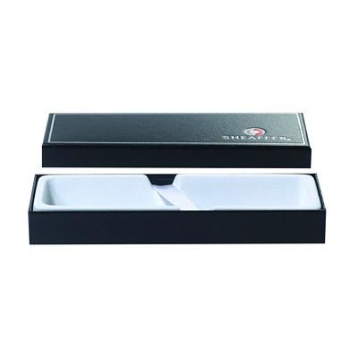 Sheaffer VFM Matte Black Nickel-Plated Fountain Pen  BLACK INK MEDIUM TIP NICKEL-PLATED