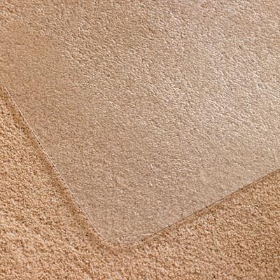 Tapis antistatique écologique pour moquettes à poils standard Ecotex Evolutionmat Floortex, transparent, 48po x 51po FLOORTEX