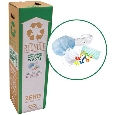 TerraCycle Safety Equipment and Protective Gear Zero Waste Box BOX-SAFETY EQUIPMENT AND PROTECTIVE GEAR