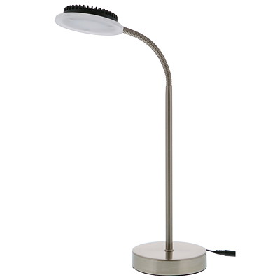 Vision Global Triton LED Desk Lamp with USB Ports DESIGNED WITH USB PORTS FULLY ADJUST. GOOSENECK 8.5 W