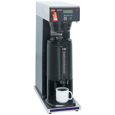 Bunn AXIOM-DV Thermal Server Coffee Brewer  PLUMBED  THERMAL  HOT WATER