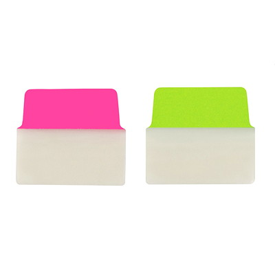 Gros onglets repositionnables UltraTabs Avery NEON GREEN & PINK 20PK