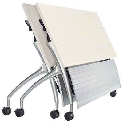 Table de formation blanc designer 2gether Global, 60 po L x 24 po P x 29 po 60X24X29 BLANC