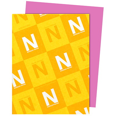 Neenah Astrobrights Outrageous Orchid Paper, Letter-Size, FSC And Green Seal Certified, 24 lb., Ream FSC LASER INKJET GUARANTEED OUTRAGEOUS ORCHID
