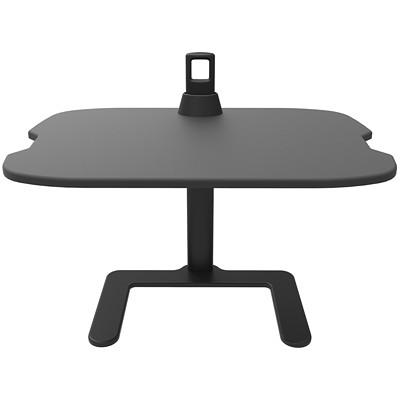 Support noir pour portable réglable en hauteur Safco HEIGHT ADJUSTABLE BLACK