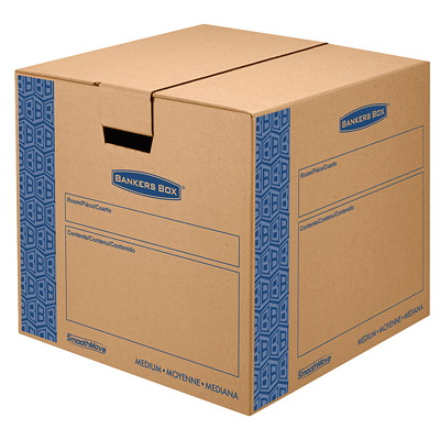 Bankers Box Smoothmove Prime Moving Box, Medium MEDIUM