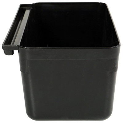 Globe Commercial Products Utility Cart Utensil Bin  HANGS ON SIDE OF UTILITY CARTS