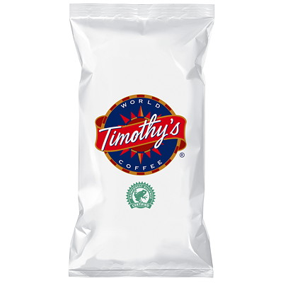 Timothy's Whole Bean Coffee, Decaffeinated Colombian, 2.5 lb RAINFOREST ALLIANCE