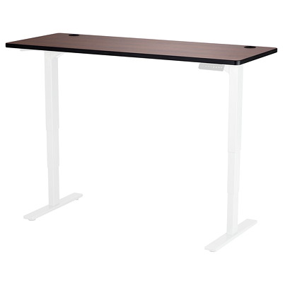 "Safco Electric Height-Adjustable 60"" x 24"" Cherry Table Top - Base Sold Separately CHERRY LAMINATE TABLE TOP 60"" WIDE X 24"" DEEP"