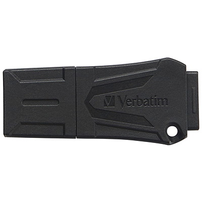 Verbatim ToughMAX - USB flash drive - 16 GB WATER  CRUSH  TEMP. RESISTANT MADE FROM PROPRIETARY KYRONMAX