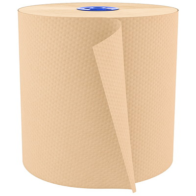 Cascades PRO Perform 1-Ply Hand Paper Towels for Tandem Dispenser, Natural, 1,050', 6/CS 1050 FEET  NATURAL CASCADES PRO PERFORM