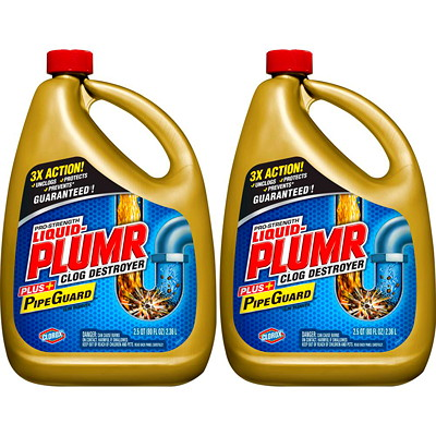 Liquid-Plumr Pro-Strength Full Clog Destroyer, 2.37 L  2.37L  HEAVY DUTY