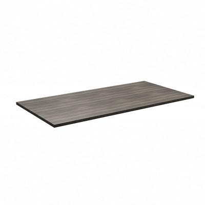 "HDL Innovations Height-Adjustable Table Top, Grey Dusk, 66"" x 30""  GREY DUSK FINISH 66""W X 30""D"