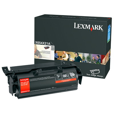 Lexmark Extra High Yield Print Cartridge (X654X21A) YIELD PRINT CARTRIDGE 36K COST PER COPY
