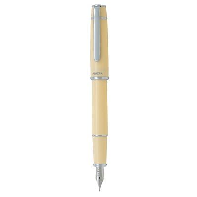 Pilot Prera Fountain Pen, Ivory Barrel/Black Ink, Fine Tip  FINE POINT  REFILLABLE IVORY BARREL