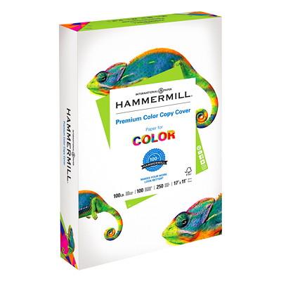 Hammermill Colour Copy Digital Cover Paper 100LB LEDGER PHOTOWHITE FSC CERTIFIED ACID FREE