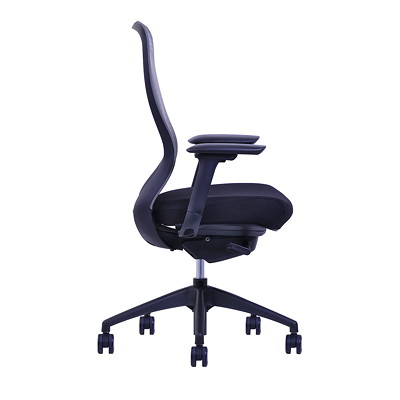 Blaze Mesh Back Executive Synchro-Tilt Chair  BLACK MESH BACK / FABRIC SEAT SYNCHRO TILT