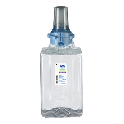 Purell ADX Advanced Foam Hand Sanitizer Refills, 70% Alcohol Content, 1,200 mL, 3/CT CASE OF 3 ECOLOGO CERTIFIED