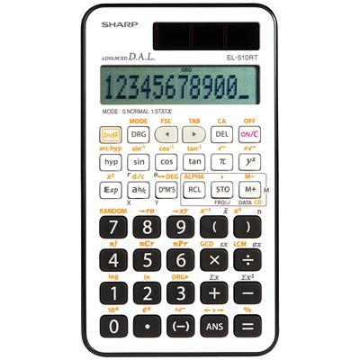 Calculatrice scientifique 160 fonctions Sharp 169 FONCTIONS ALGEBRIQUE LOGARITHMIQUE