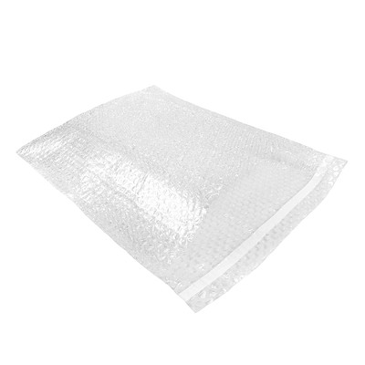 "Crownhill Self-Sealing Bubble Pouches, Clear, 4"" x 7 1/2"", 250/PK SELF SEAL  CROWNHILL"