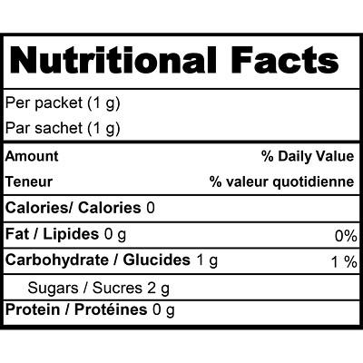 Splenda Sweetener, 100/PK LOW CALORIE