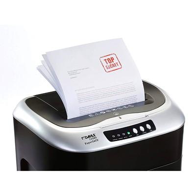 "Dahle PaperSAFE 22080 Shredder, Cross-Cut, 8 Sheet Capacity, P-4 Level (22080) P-4.  8.75"" THROAT. 5 GAL. 8 MINSON/45MINSOFF.528' T/PUT"
