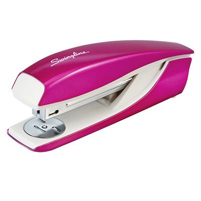 Swingline NeXXt WOW Stapler, Pink, 40 Sheet Capacity SWINGLINE METAL BODY 40 SHEET CAPACITY