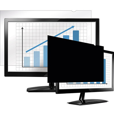 "Fellowes PrivaScreen Blackout Privacy Filter, 19.0"" LAPTOP/FLAT PANEL-BLACK OUT"