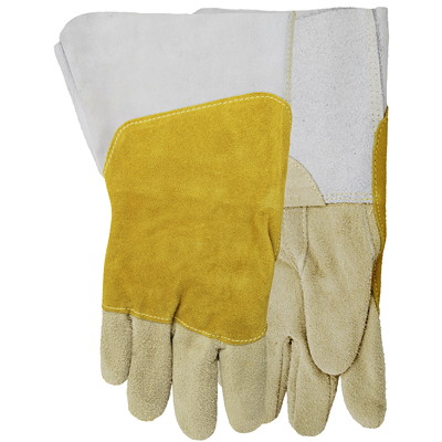 Gants de soudure Mad Cow, taille TG REVERSED-GRAIN COWHIDE LEATHER SIZE X-LARGE