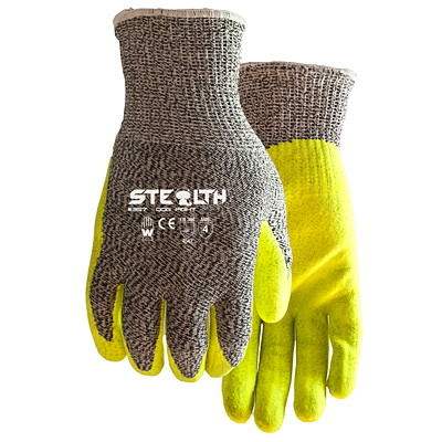 Stealth Dog Fight Cut-Resistant Gloves, Large, 6 Pairs/PK  NITRILE COATING  ANSI A4 SIZE LARGE